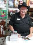 """The Bait Man"" signing at Matlacha Menagerie"