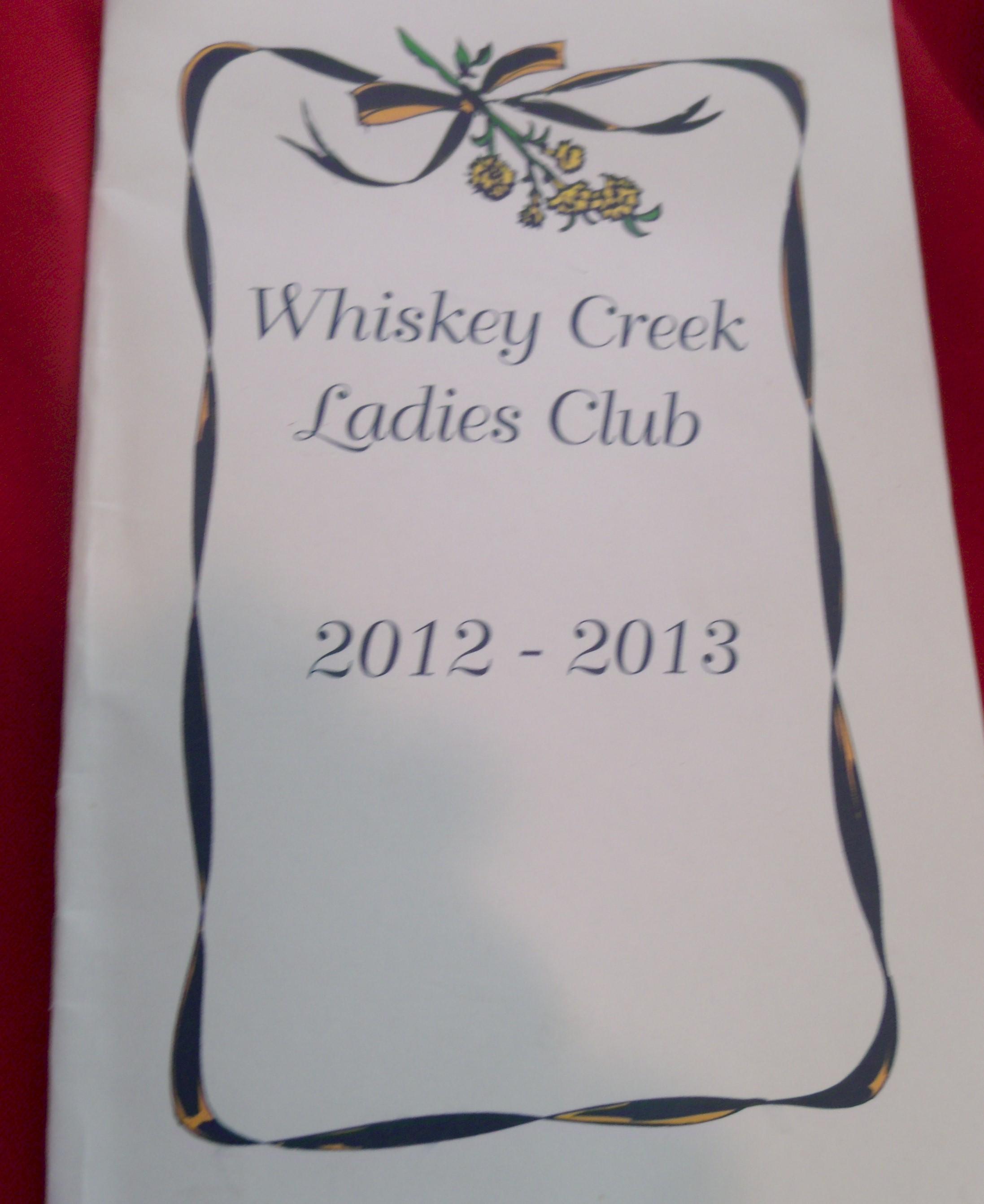 Whiskey Creek Ladies Club