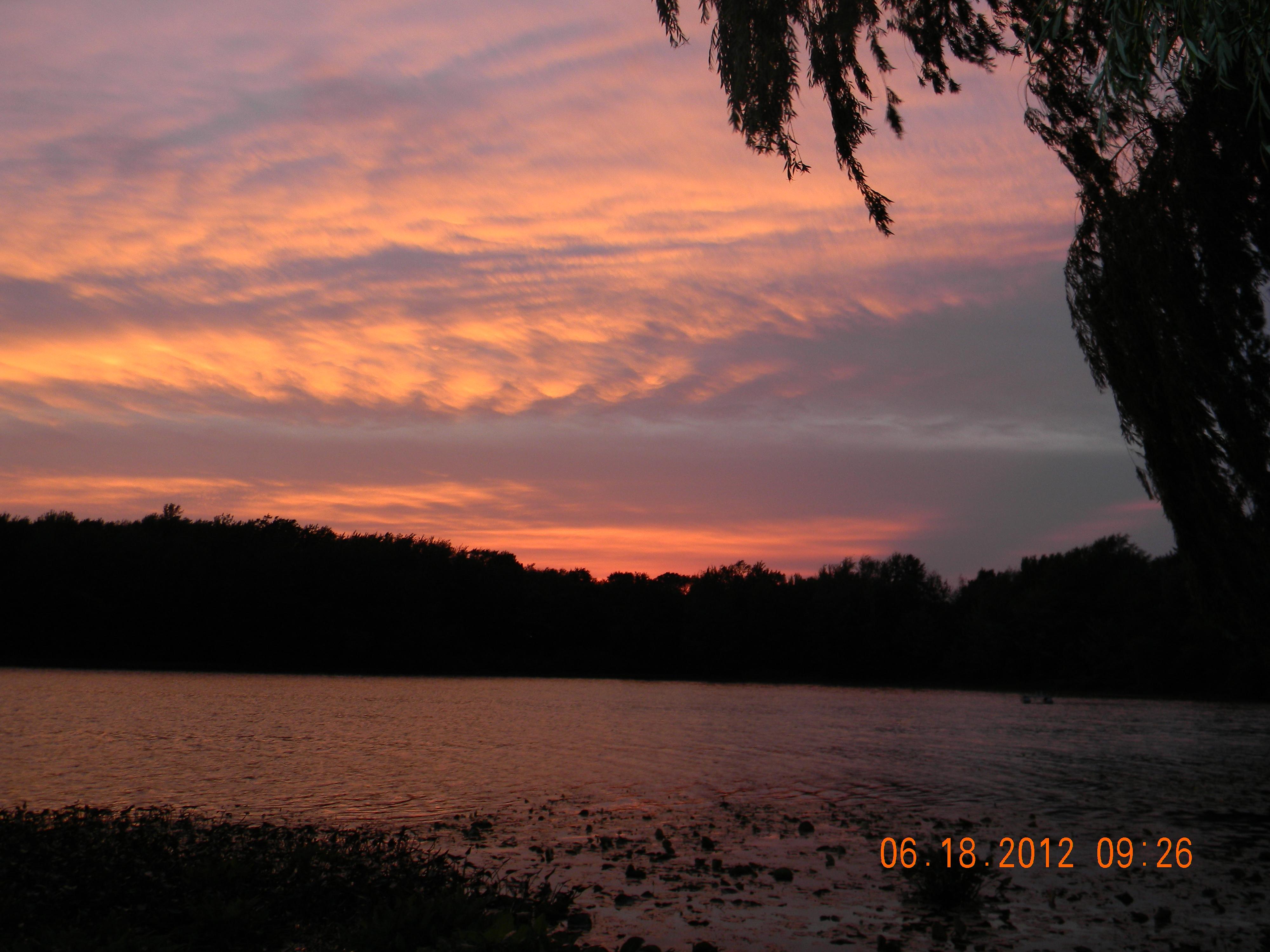Dragon Lake Sunset
