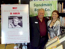 Sandman Book Co Book Signing